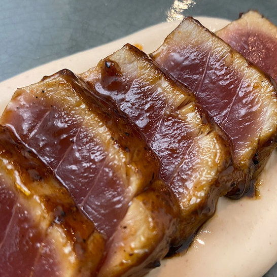 "Tuna Steak ""Teriyaki Style"""